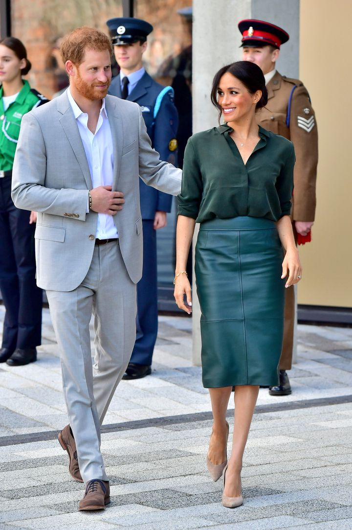 The Duke and Duchess of Sussex take on ... Sussex.