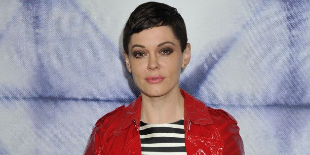 Rose McGowan arrives at Refinery 29 Los Angeles Holiday Party at Sunset Towers on Wednesday,  December 10, 2014, in Los Angel