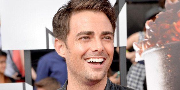 LOS ANGELES, CA - APRIL 13:  Actor Jonathan Bennett attends the 2014 MTV Movie Awards at Nokia Theatre L.A. Live on April 13,