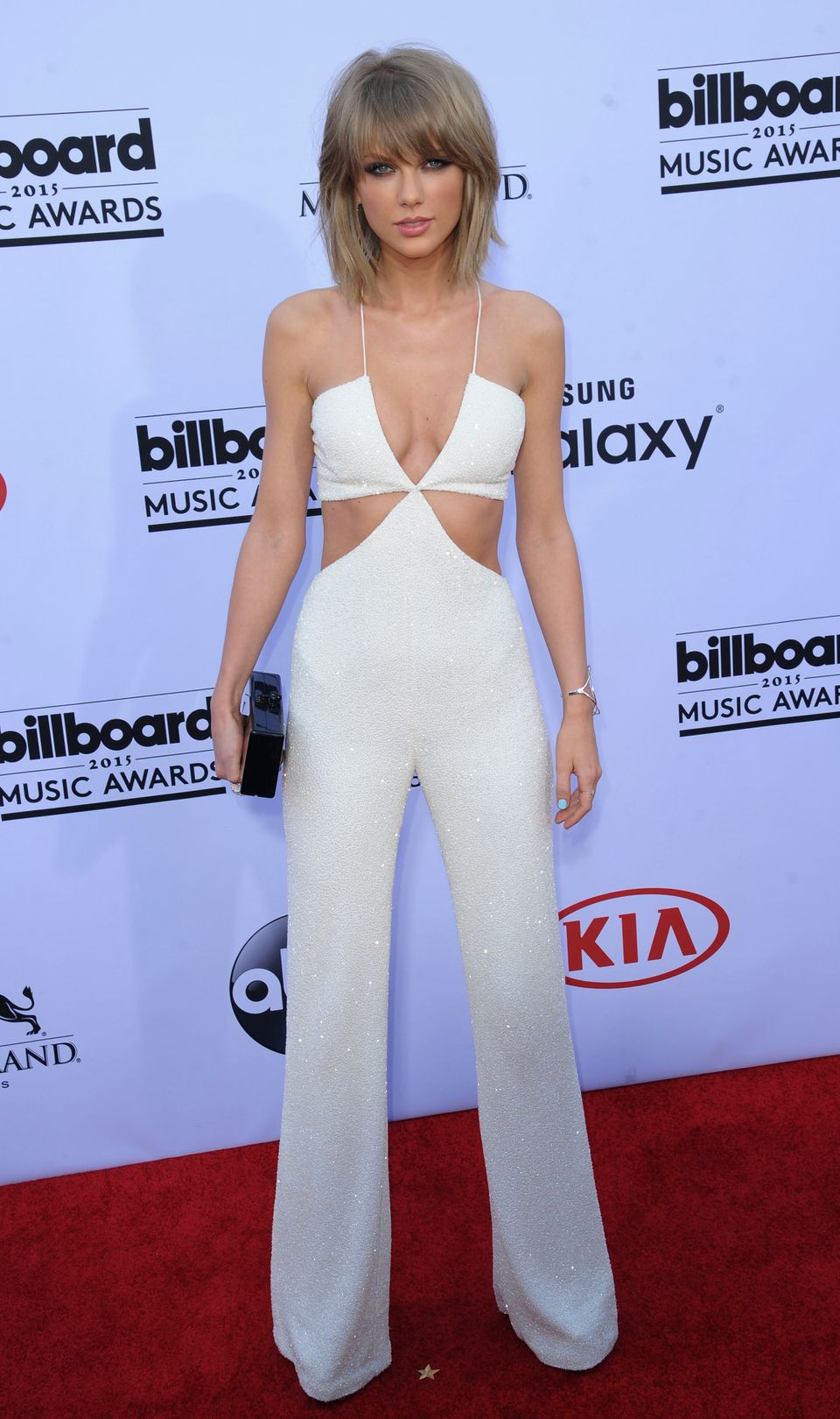 When she rocked this Balmain jumpsuit at the 2015 Billboard Music Awards