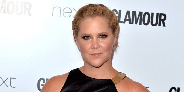 LONDON, ENGLAND - JUNE 02:  Amy Schumer attends the Glamour Women Of The Year Awards at Berkeley Square Gardens on June 2, 20