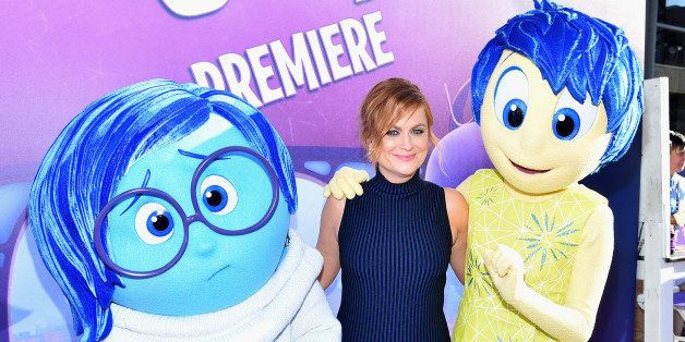 HOLLYWOOD, CA - JUNE 08:  Actress Amy Poehler attends the Los Angeles Premiere and Party for Disney•Pixar's INSIDE OUT at E