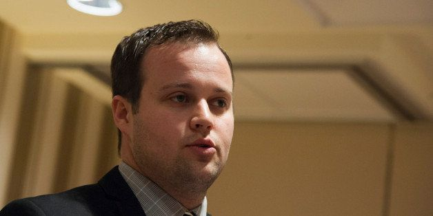 NATIONAL HARBOR, MD - FEBRUARY 28: Josh Duggar speaks during the 42nd annual Conservative Political Action Conference (CPAC)