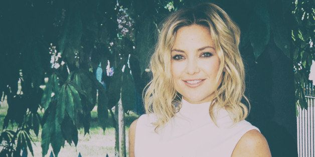 LONDON, ENGLAND - JULY 02:  (EDITORS NOTE: This image was created using digital filters)  Kate Hudson attends the Serpentine