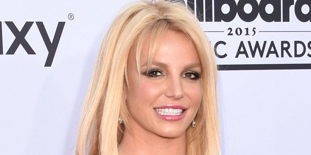 LAS VEGAS, NV - MAY 17:  Singer Britney Spears arrives at the 2015 Billboard Music Awards at MGM Garden Arena on May 17, 2015