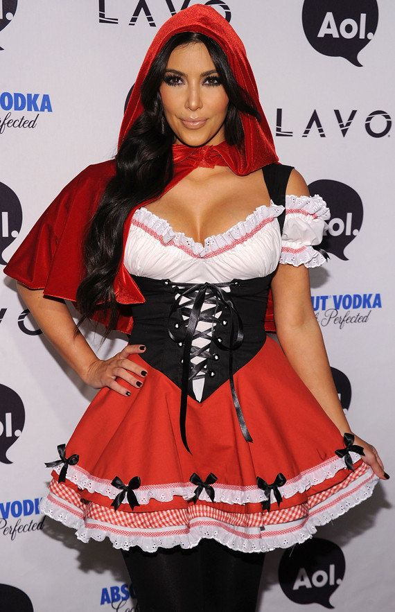 Kim Kardashian: Busty Red Riding Hood (PHOTOS)