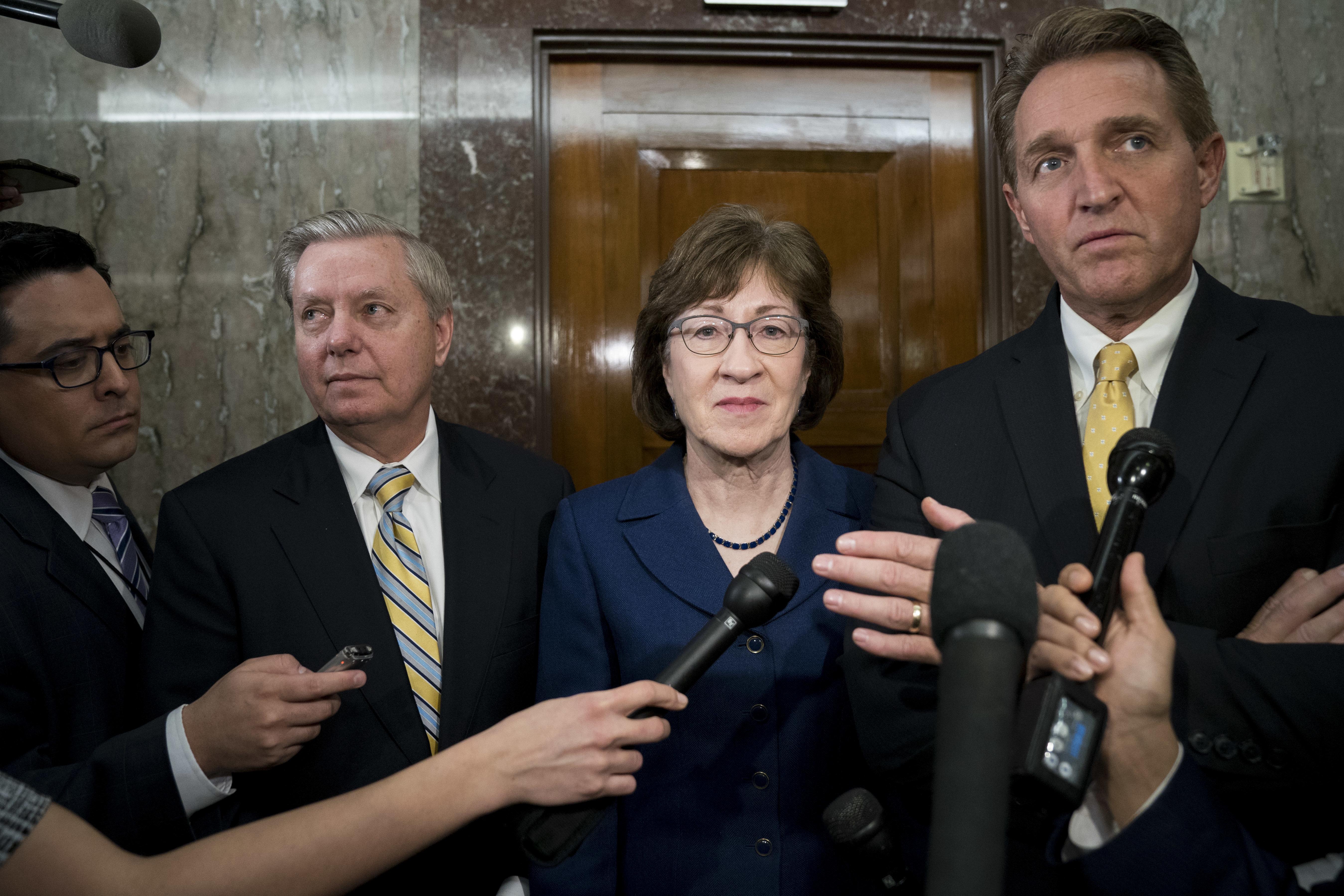 Trump's Mockery Of Christine Blasey Ford Draws GOP Concern