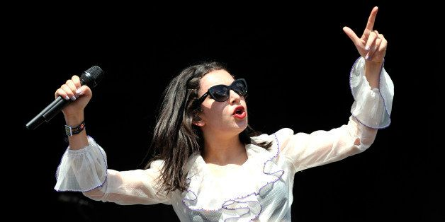 Charli XCX performs at Lollapalooza at Grant Park on Saturday, August 1, 2015, in Chicago, Illinois. (Photo by Rob Grabowski/