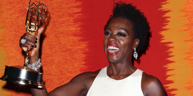 LOS ANGELES, CA - SEPTEMBER 20:  Actress Viola Davis attends HBO's Official 2015 Emmy After Party at The Plaza at the Pacific