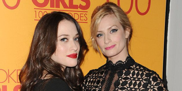 broke girls actresses two