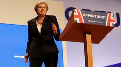 Theresa May Embraces Inner Dancing Queen At Conference