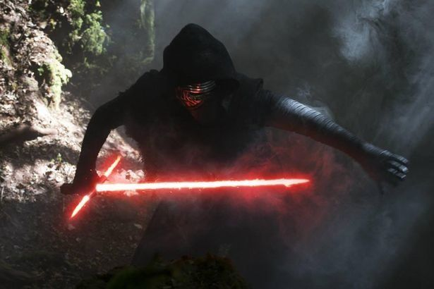 A dark warrior strong with the Force, Kylo Ren commands First Order missions with a temper as fiery as his unconventional lig