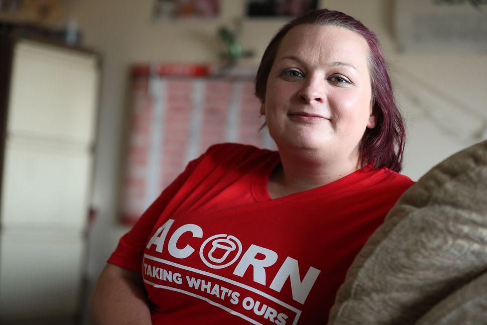 Acorn volunteer Sam