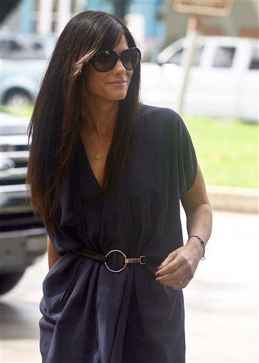 Sandra Bullock's Son Louis Wears An Adorable Outfit (PHOTOS