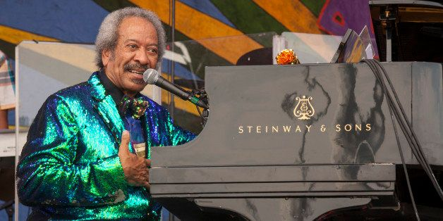 Allen Toussaint performs at the New Orleans Jazz & Heritage Festival, on Sunday, April 26, 2015 in New Orleans. (Phot