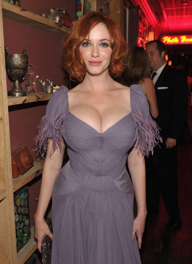 Christina Hendricks Breasts Real