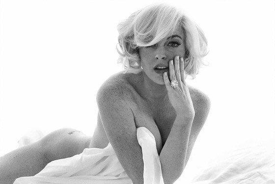 Lindsay lohan nude marylin