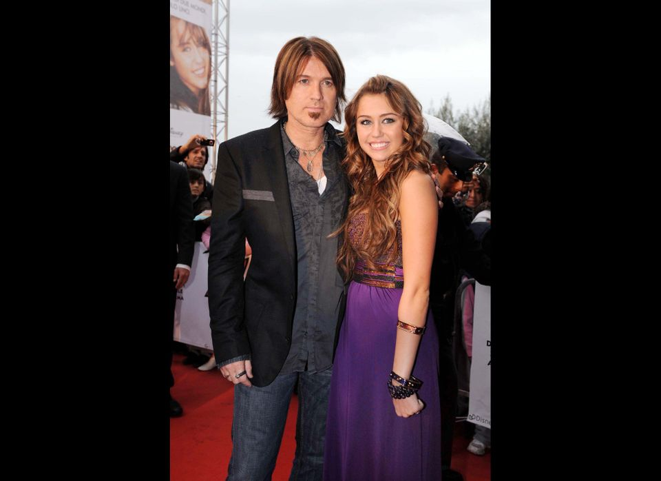 Billy Ray Cyrus & Miley Cyrus