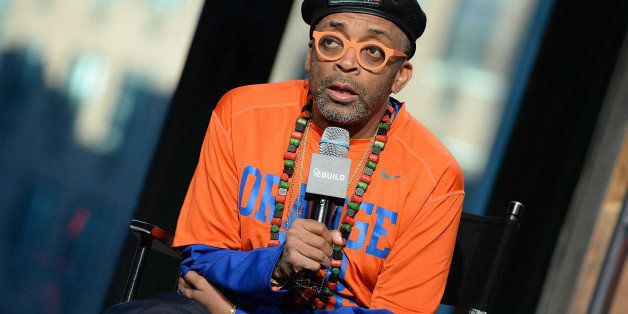NEW YORK, NY - DECEMBER 04:  Director Spike Lee discusses the most buzzed about film this season, 'Chi-Raq,' a modern day ada