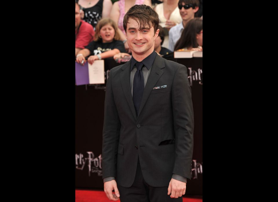 """Harry himself! Already a Broadway star, in """"How to Succeed In Business Without Really Trying,"""" Radcliffe will next appear on"""