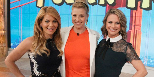 THE VIEW - The cast of 'Fuller House' visits 'THE VIEW,' 2/26/16 (11:00 a.m. - 12:00 noon, ET) airing on the ABC Television N