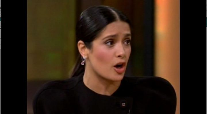 Salma Hayek Talks About Losing Baby Weight From