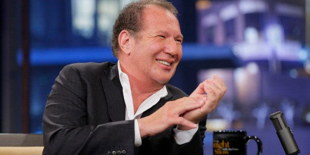 THE TONIGHT SHOW WITH JAY LENO -- Episode 4249 -- Pictured: Actor Gary Shandling during an interview on May 9, 2012 -- (Photo