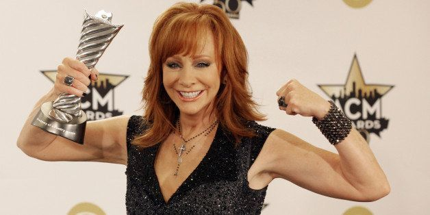 ARLINGTON - APRIL 19: Milestone Honoree Reba McEntire at 50TH ACADEMY OF COUNTRY MUSIC AWARDS, from AT&T Stadium in Arlington