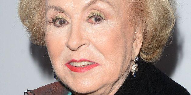 HOLLYWOOD, CA - DECEMBER 02:  Actress Doris Roberts arrives at the premiere of Warner Bros. Television's 'Dolly Parton's Coat