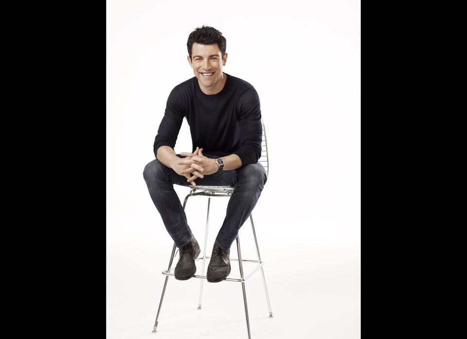 """You might recognize him from his short stint on shows like """"Veronica Mars"""" and """"Ugly Betty,"""" but Max Greenfield will be front"""