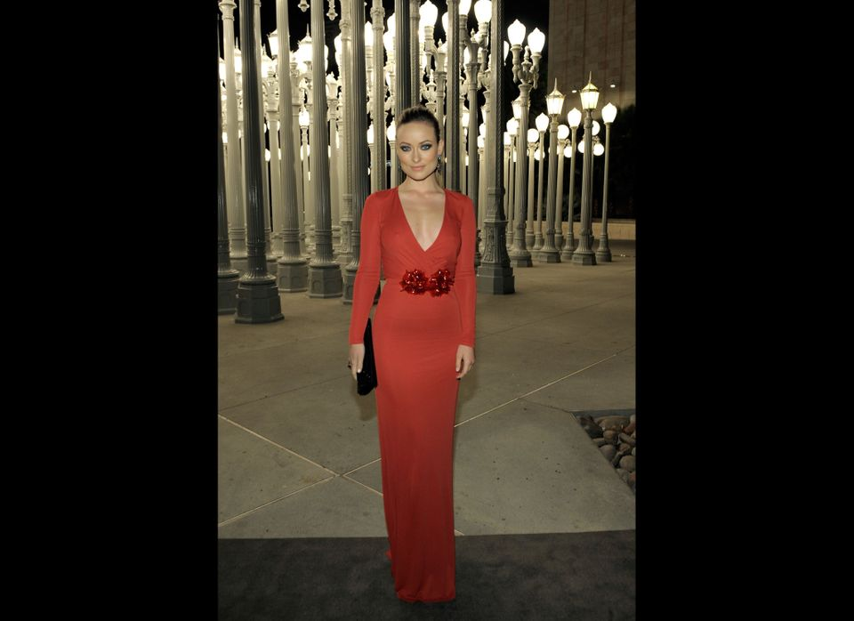 Actress Olivia Wilde attends LACMA Art + Film Gala Honoring Clint Eastwood and John Baldessari Presented By Gucci at Los Ange