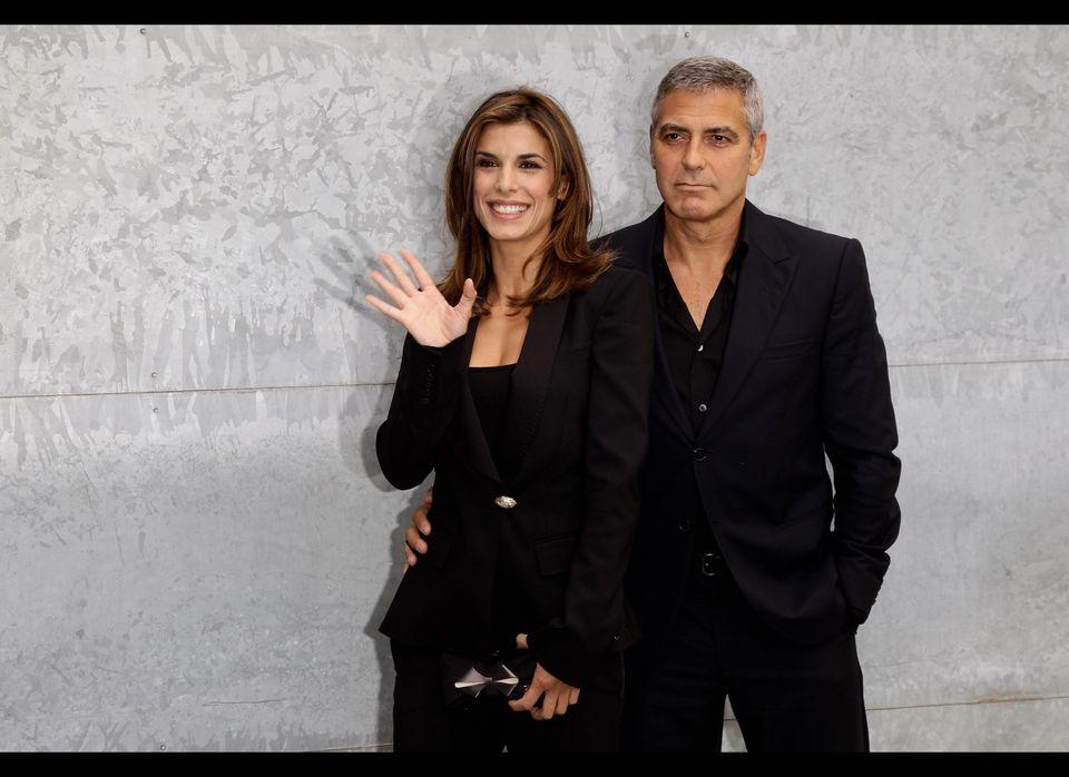 George Clooney & Elisabetta Canalis