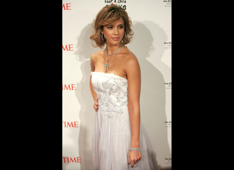 """In 2005, actress Jessica Alba told <em>Glamour</em>, """"A lot of girls have eating disorders, and I did too. I got obsessed wit"""