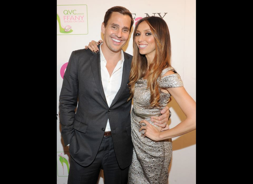 "NEW YORK - OCT. 13: Bill Rancic and Giuliana Rancic attend the 18th Annual QVC ""FFANY Shoes On Sale"" at The Waldorf-Astoria o"