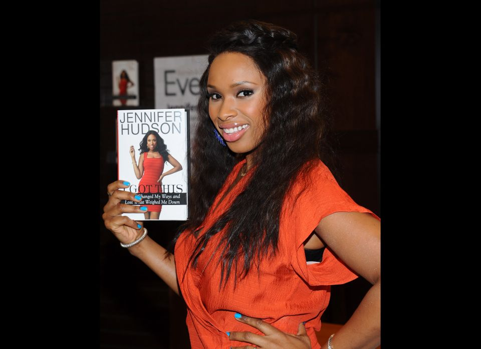 Singer Jennifer Hudson signs copies of her new book, 'I Got This' at Barnes and Noble at the Grove on January 12, 2012 in Los
