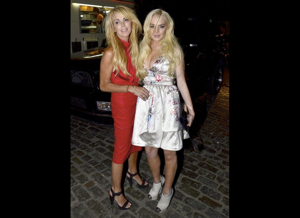 Dina Lohan claims to have started her career as a Rockette, but there is no evidence to suggest this is true. Now she makes a