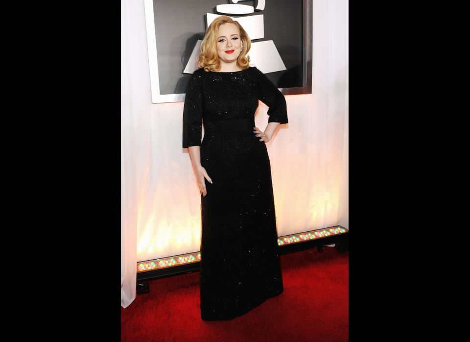The 54th Annual GRAMMY Awards - Red Carpet   (Getty)