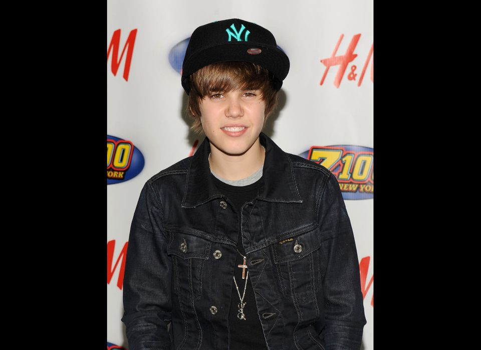 Singer Justin Bieber attends Z100's Jingle Ball 2009 at Madison Square Garden on December 11, 2009 in New York City.  (Photo