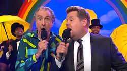 Eric Idle And James Corden Sing 'We Are Probably All Going To