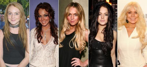 Lindsay Lohan Face Morph Video Shows Actress Age Rapidly (VIDEO