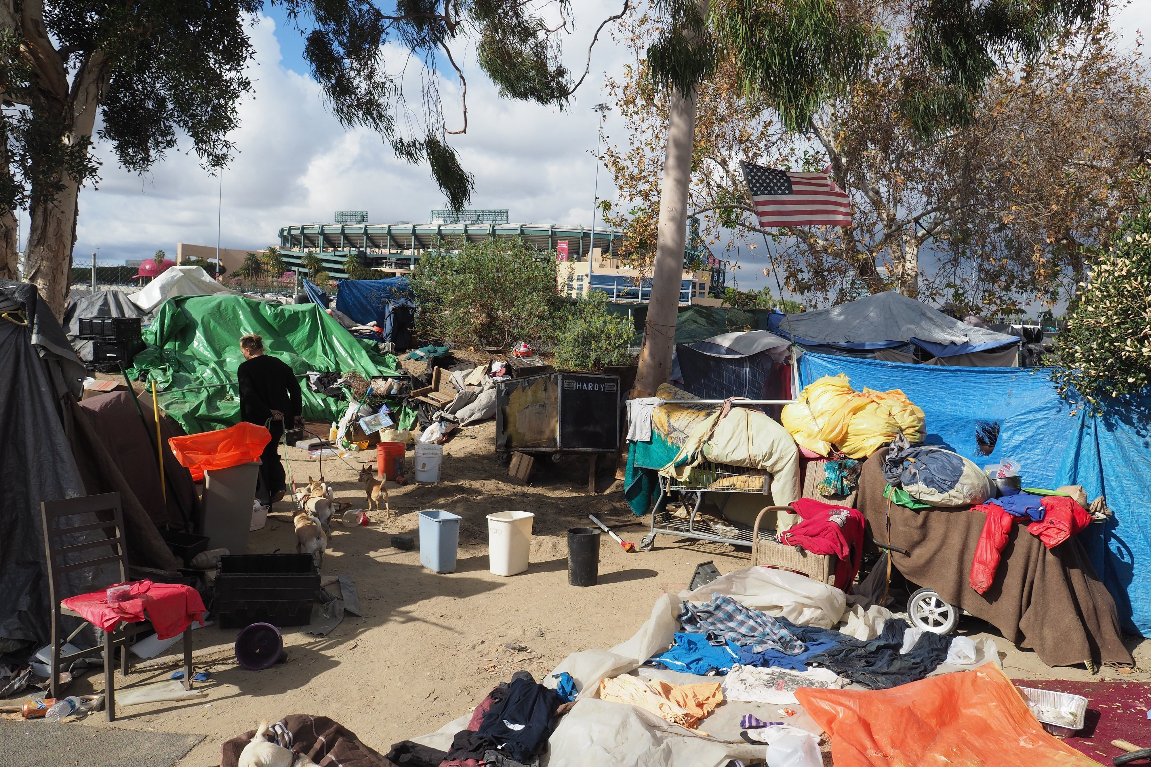 Faced with a lack of affordable housing, Orange County's homeless residents camped near the Santa Ana riverbed until authorities forced them to leave.