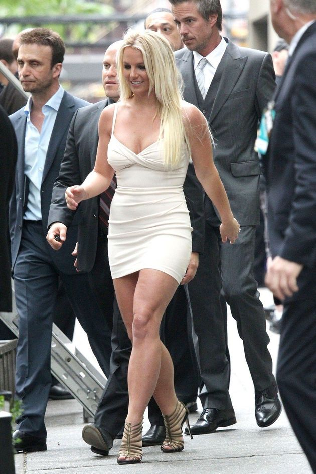 Britney Spears 'X Factor': Singer Shows Major Leg, Cleavage, Joins Judges  Panel | HuffPost