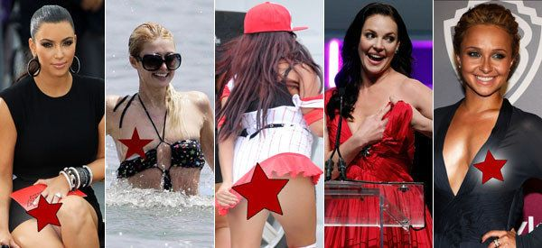 Celebrity Wardrobe Malfunctions Stars And Their Biggest