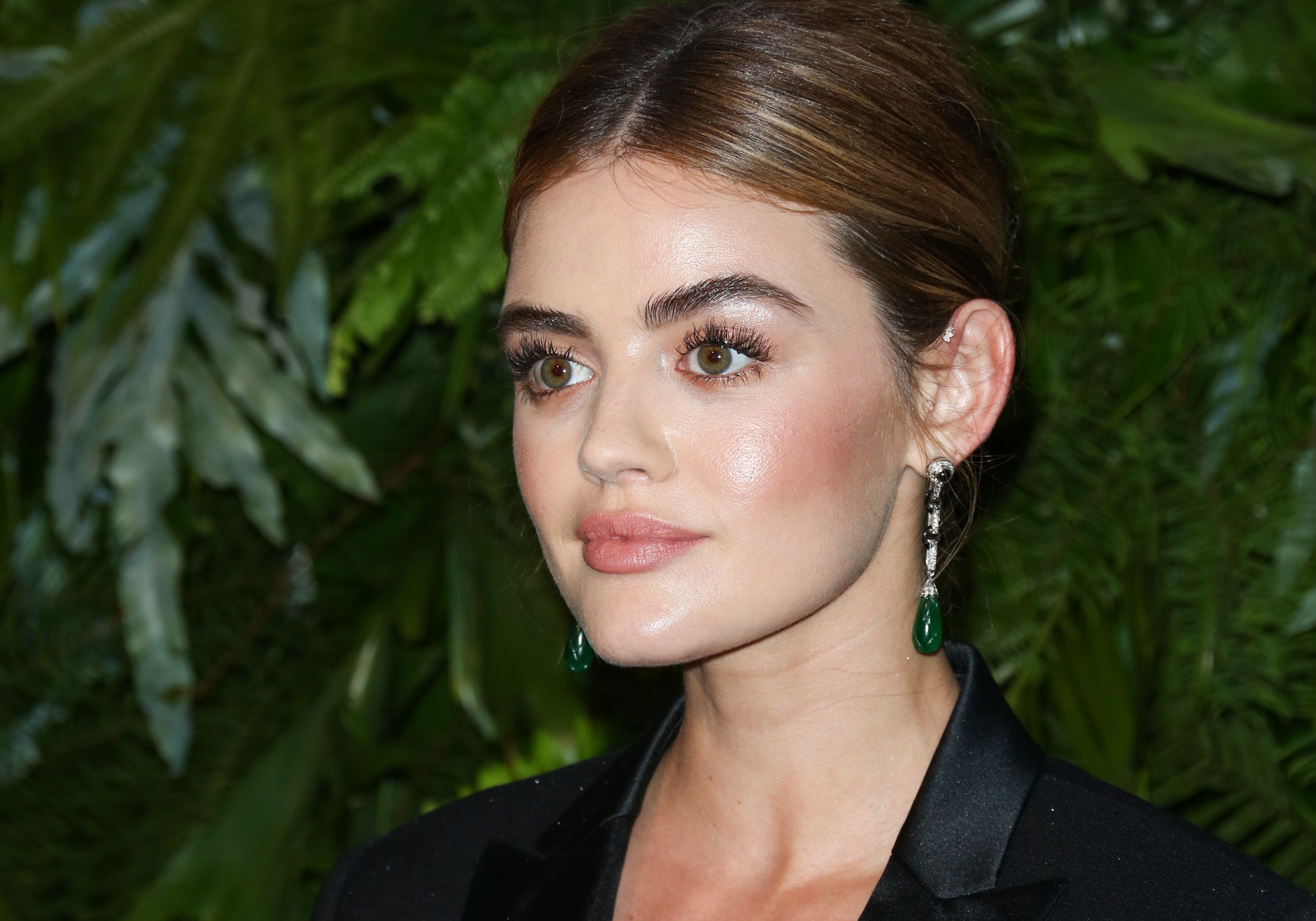 LOS ANGELES, CA - JUNE 12:  Actress Lucy Hale attends the Max Mara WIF Face Of The Future event at the Chateau Marmont on June 12, 2018 in Los Angeles, California.  (Photo by Paul Archuleta/FilmMagic)