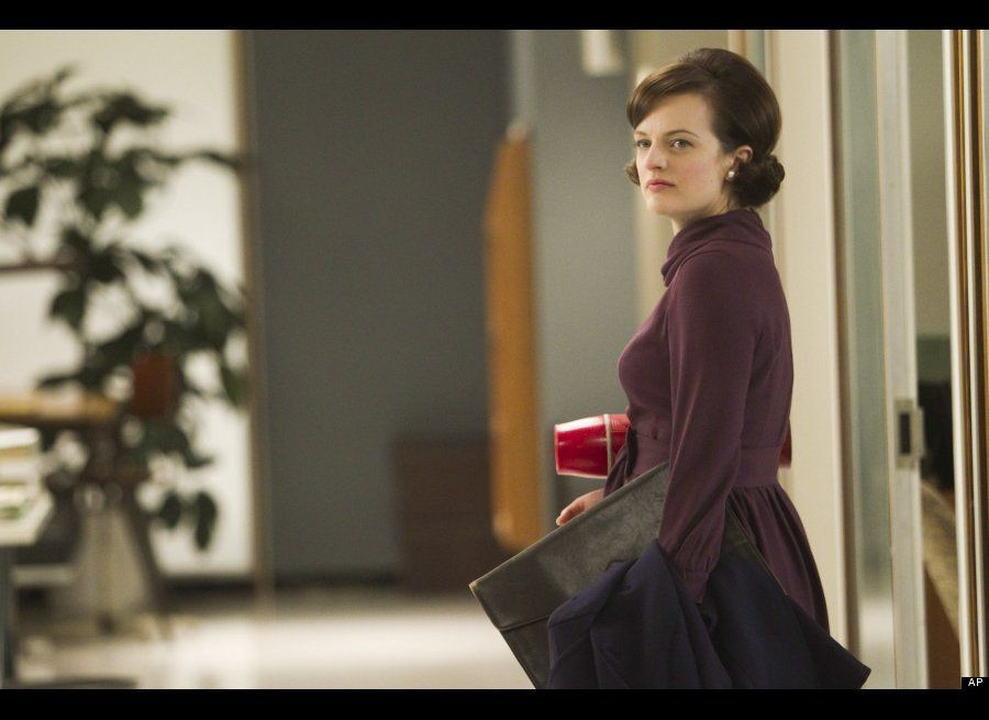 She didn't have an easy start as a secretary at Sterling Cooper, but Peggy Olson (Elisabeth Moss) has certainly worked her wa