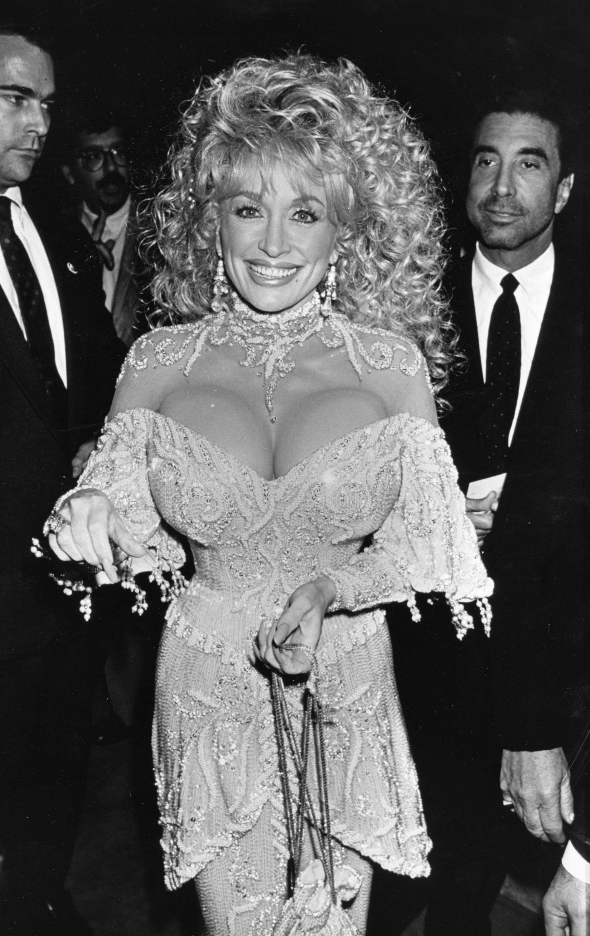 Does dolly parton have real boobs