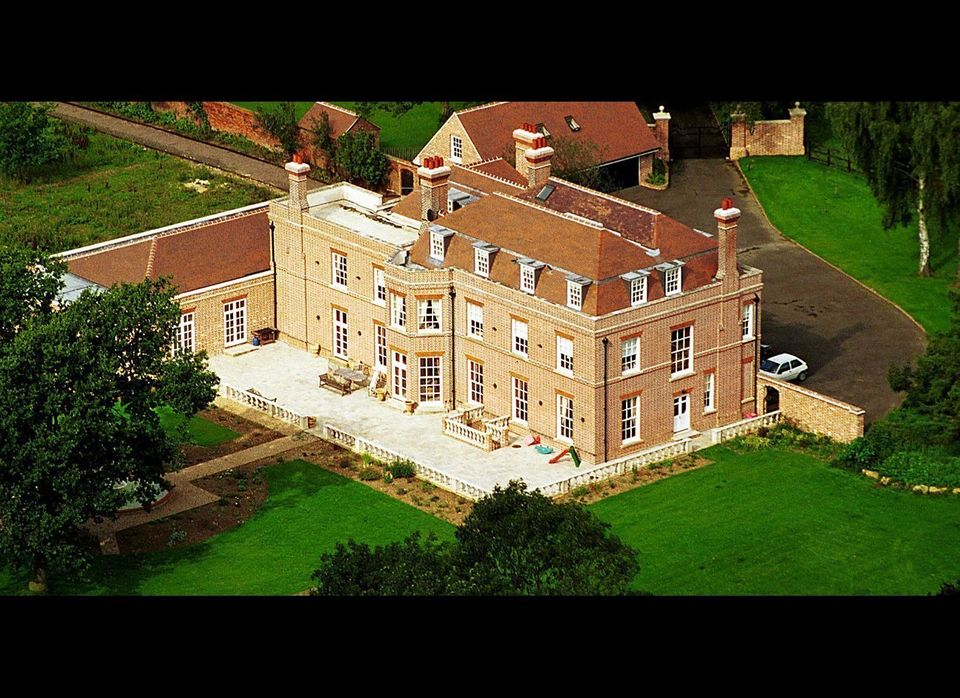 Officially known as Rowneybury House, this Grade II listed Georgian-style mansion in Hertfordshire was purchased by Posh and