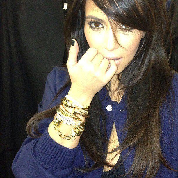 Kim Kardashian Instagrams New 200 000 Cartier Bracelets From Kanye West Photo