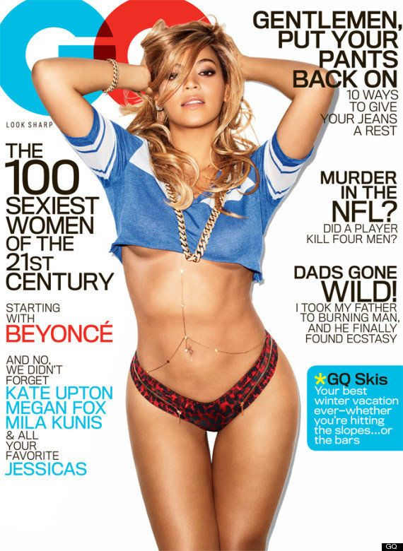 "GQ cover, February  2013 ""The 100 Sexiest Women of The 21st Century"" issue"