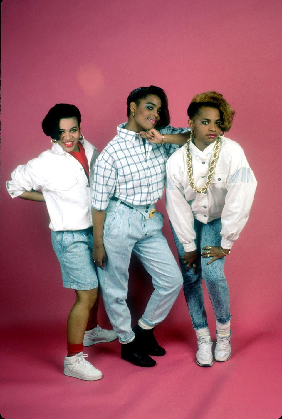 CIRCA 1988: Photo of Salt n Pepa (Photo by Michael Ochs Archives/Getty Images)